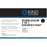 QKind Bubblegum 4 in 1 Disinfectant 5L