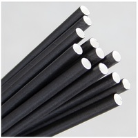 Regular Paper Drinking Straw - Black 2500/ctn