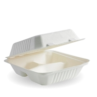Envirochoice Natural Fibre Dinner Pack - Large 3 Compartment 250/ctn