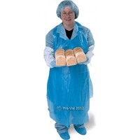 Disposable Plastic Apron Blue 500/ctn
