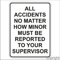 Accidents Sign
