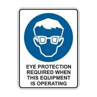 Eye Protect Required for Equip