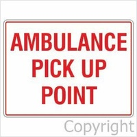 Ambulance Pick Up Point