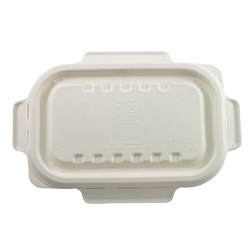 Biodegradable Lid to suit 500/650ml Rectangle Containers 500/ctn