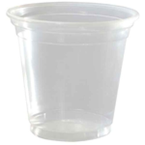 Capri Plastic Cups Clear 200ml 1000/ctn