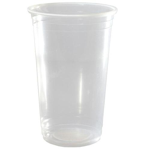 Capri Plastic Cups Clear 620ml 1000/ctn
