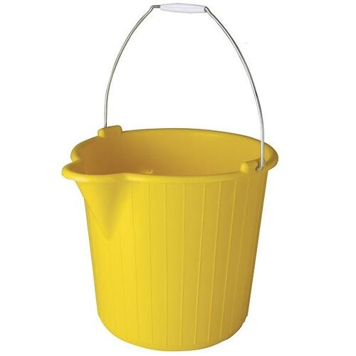 Oates Duraclean Super Bucket 12L Yellow