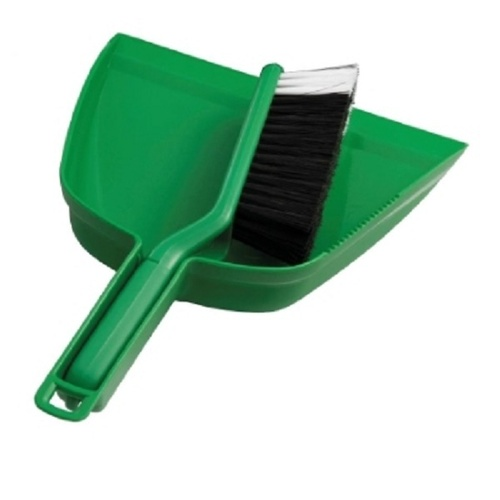 Oates Dustpan Set Green